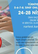 Nartest 5. Sınıf Tüm Dersler Online Deneme Sınavı-1